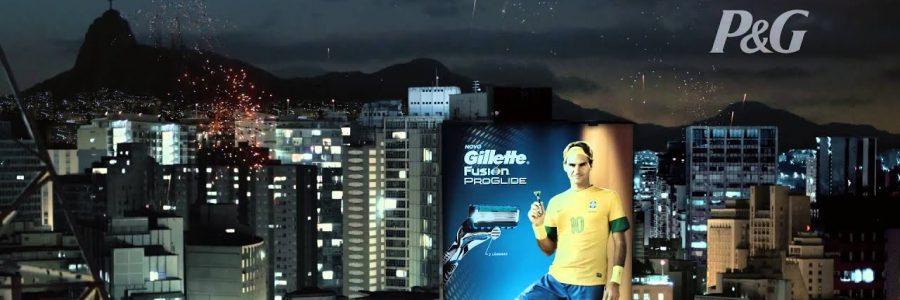 Federer futbolista en Brasil